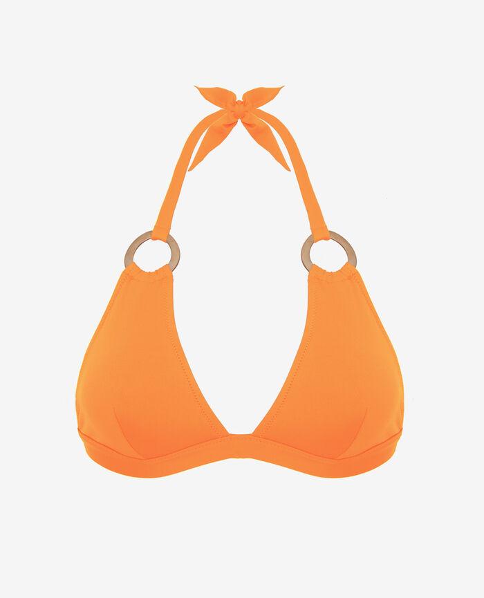 Triangel-Bikini-Oberteil Maya Orange ISAIA