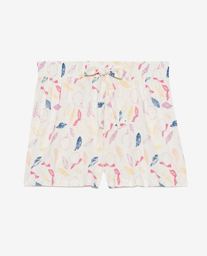 Pyjama-Shorts Nektarine Elfenbein TAMTAM SHAKER