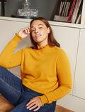 Rollkragenpullover Absinthe gelb ICONE