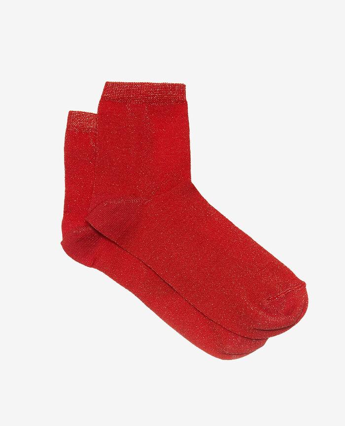 Socken Blinkt rot DIAMOND