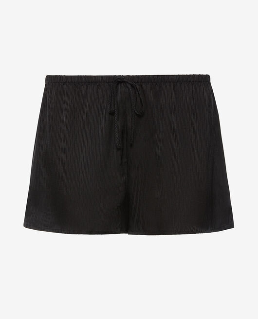 Pyjama-Shorts Schwarz FANCY
