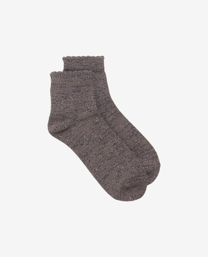 Socken Stahlgrau SPARKLE