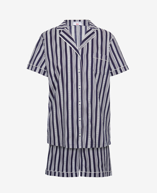 Pyjama-Set Stripe navy PRINCESSE TAM.TAM x UNIQLO