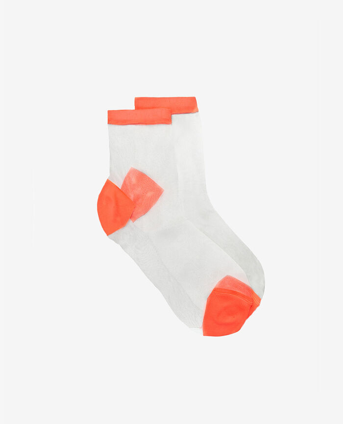 Socken Neon Orange DANSEUSE