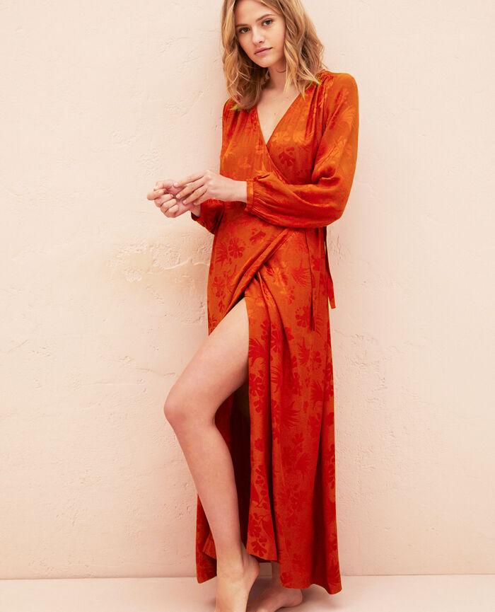 Kleid Terracotta MENARA