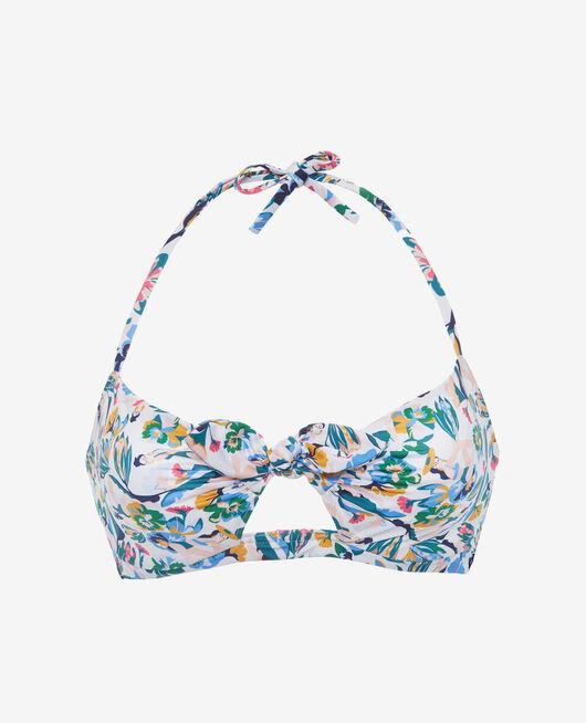 Bandeau-Bikini-Oberteil mit versteckten Bügeln Bunt KIF KIF