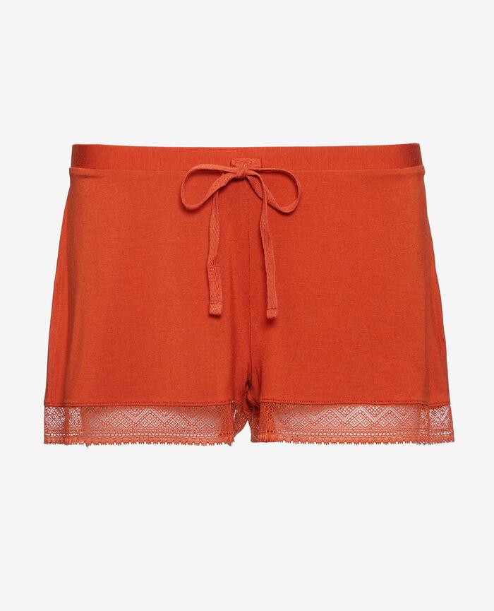 Pyjamashorts Terracotta DOUCEUR