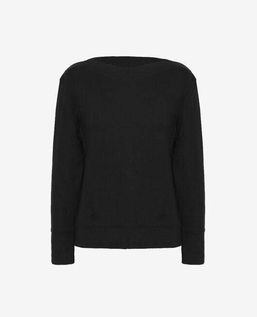 Sport-Sweatshirt Schwarz YOGA