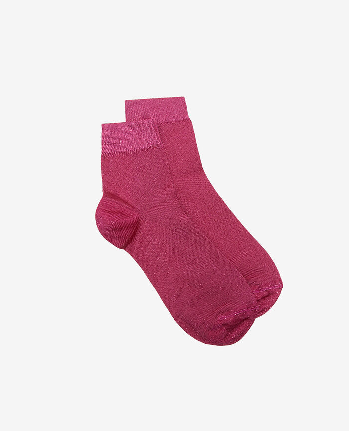 Socken Fuchsia rosa GLOW