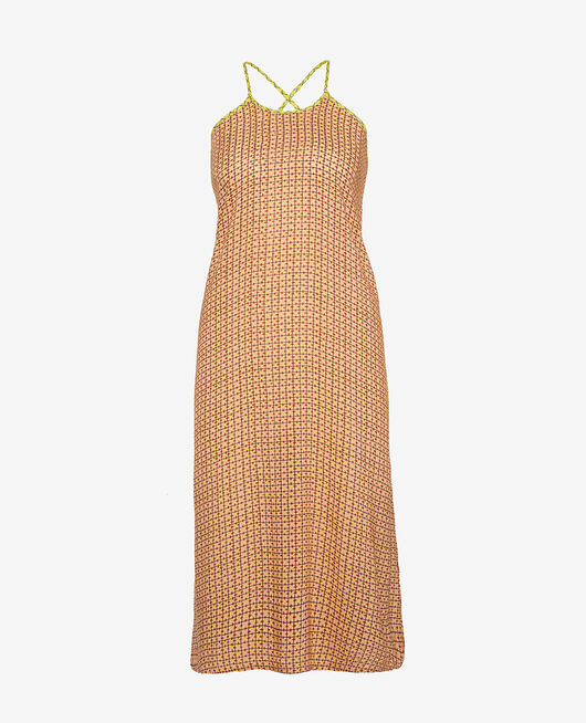 Kleid Kacheln Rosa VACANZE