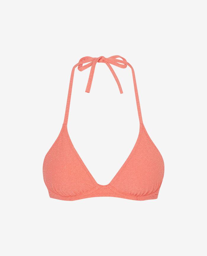 Triangel-Bikini-Oberteil mit Mini-Wire Funky Rosa MAKEDA