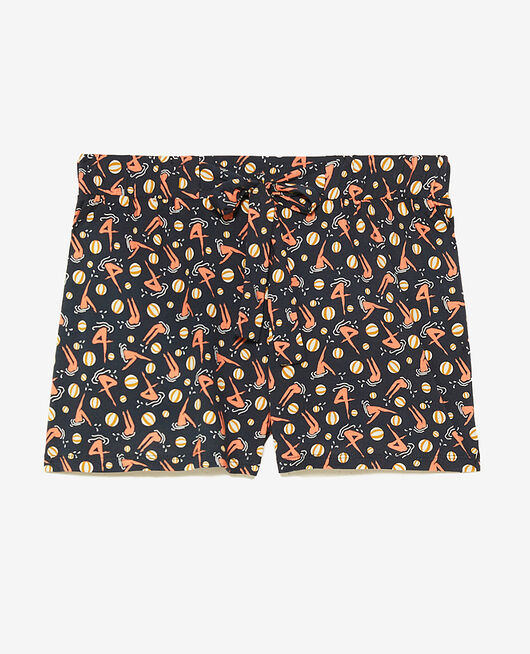 Pyjama-Shorts Strand marineblau TAMTAM SHAKER