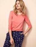 Langärmliges T-Shirt Funky Rosa LATTE