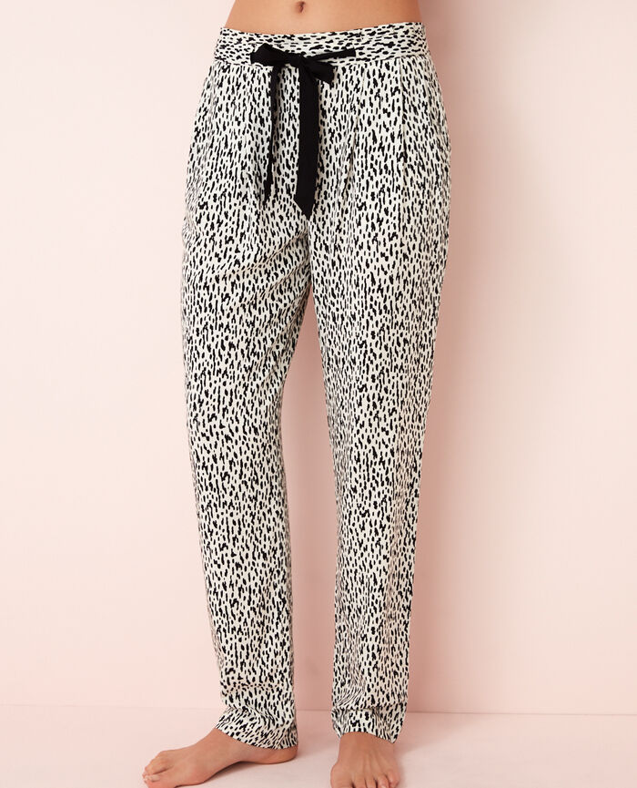Pyjama-Hose Wild Weiß DARLING