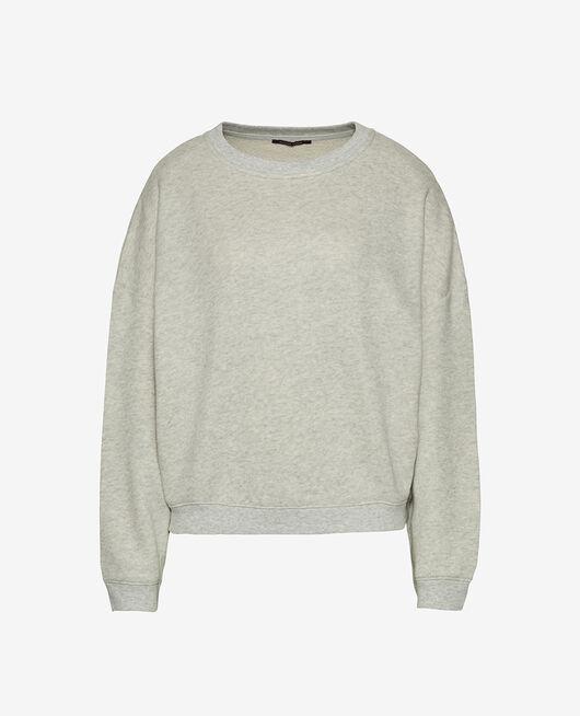 Sweatshirt Grau meliert DOUDOU