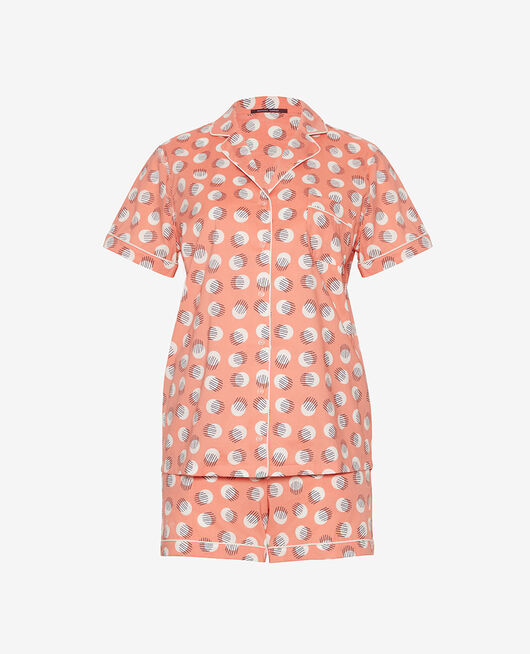 Pyjama-Set Babyrosa getupft TUTTI FRUTTI