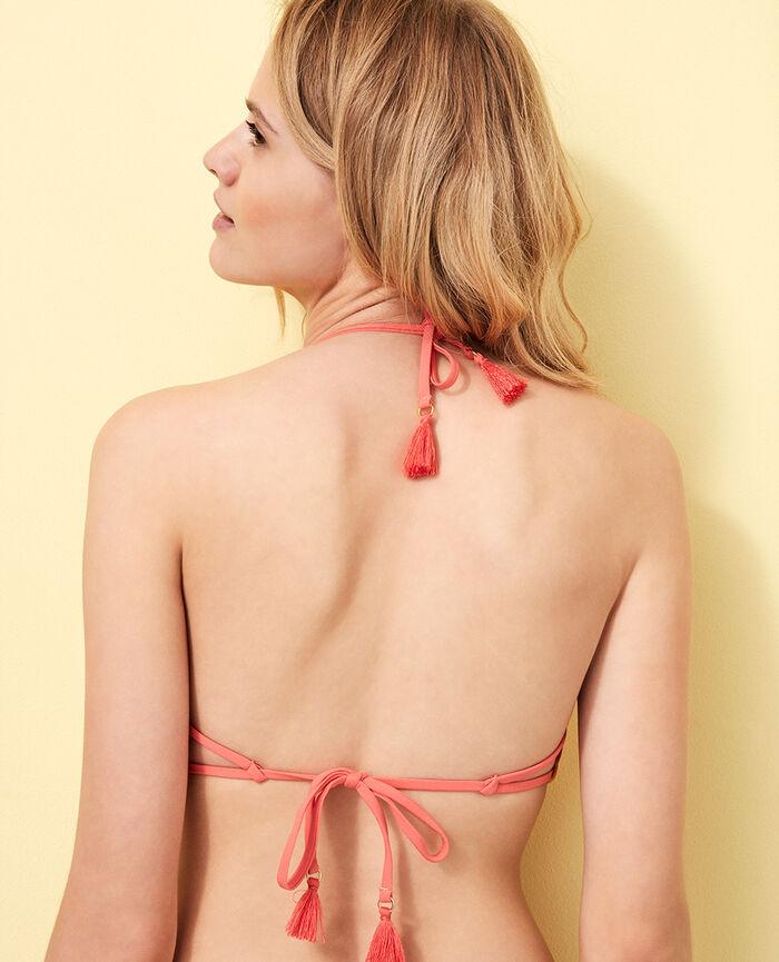 Gepolstertes Triangel-Bikini-Oberteil Bananengelb BOMBA