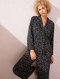 Pyjama-Jacke Wachsblau PYJMANIA