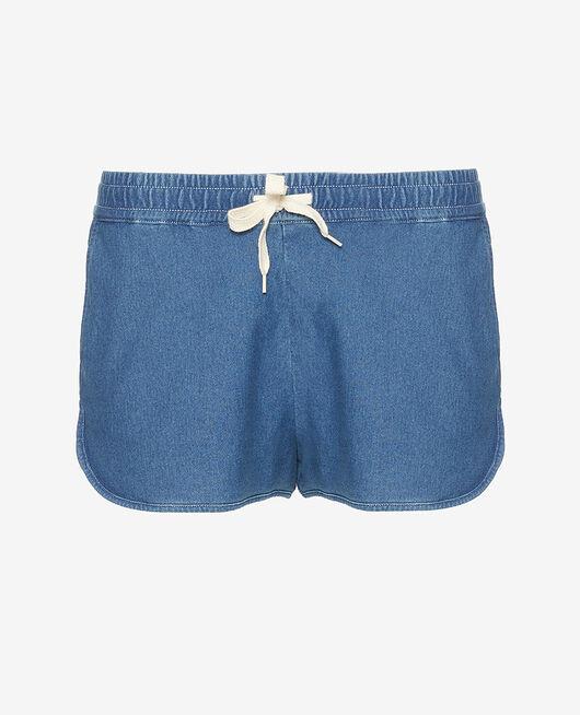 Shorts Indigo DENIM JERSEY