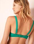 Triangel-Bikini-Oberteil mit Bügeln Casa Grün IMPALA