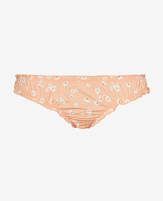 Rüschen-Slip Gänseblümchen aprikosenrosa TAKE AWAY