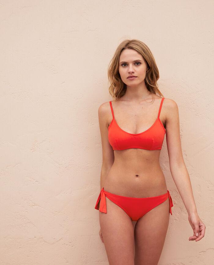 Ausgeschnittener Bikinislip Marienkäfer Rot PRINCESSE TAM.TAM x UNIQLO