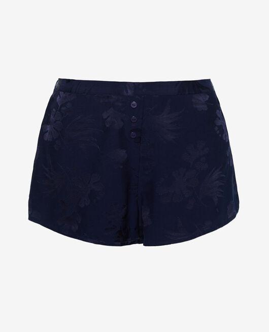 Pyjama-Shorts Marineblau MENARA