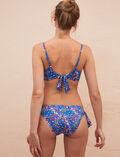 Bandeau-Bikini-BH ohne Bügel Flower Blue PRINCESSE TAM.TAM x UNIQLO