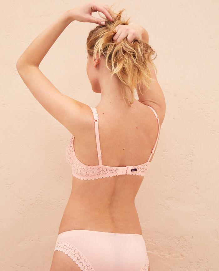 Triangel-BH mit Bügeln Rosa Gazelle MONICA