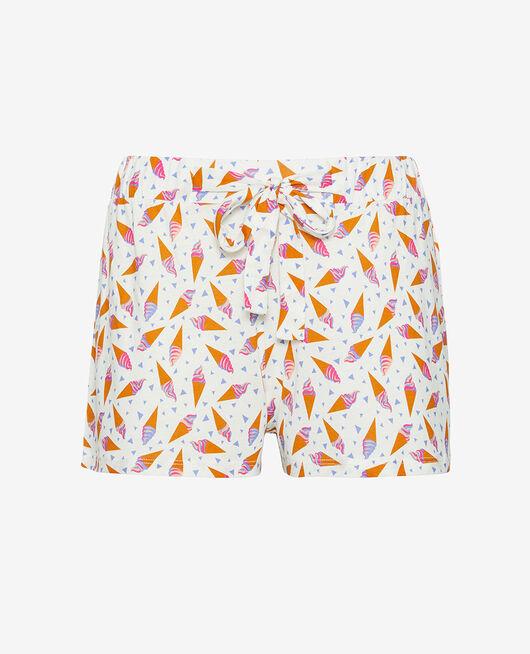 Pyjama-Shorts Eis elfenbein TAMTAM SHAKER