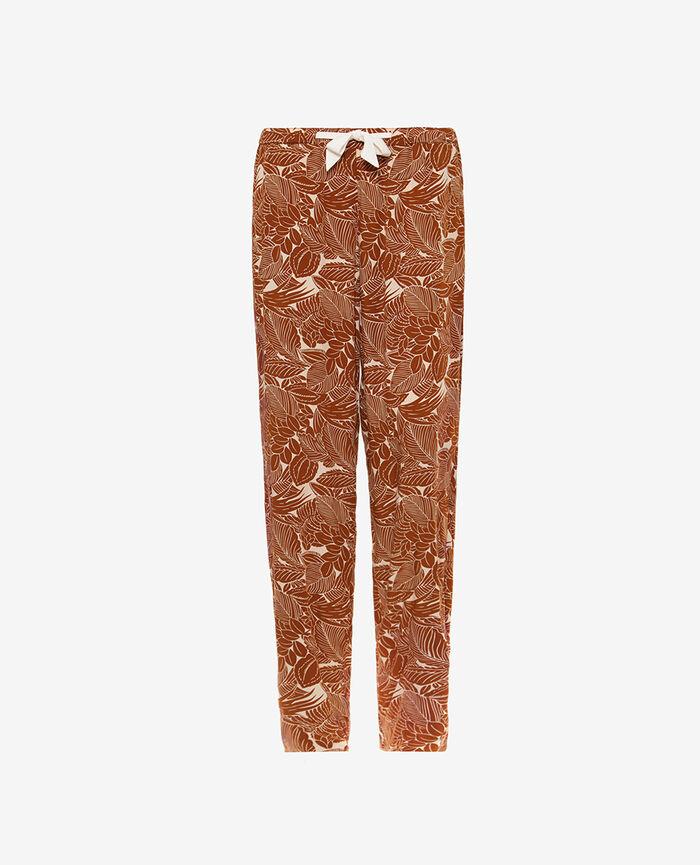 Pyjama Hose Botanische Bronze FRESQUE