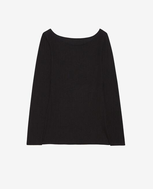 Langärmliges T-Shirt Schwarz HEATTECH© INNERWEAR