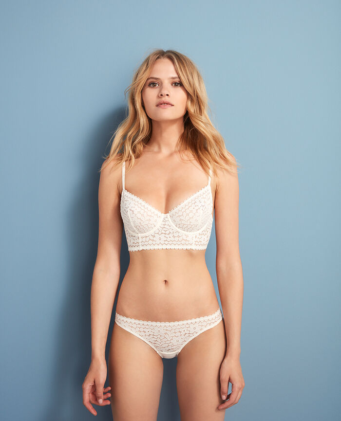 Low-cut Slip Weiß rosé MONICA