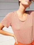Kurzärmliges T-Shirt Mosaik DIMANCHE