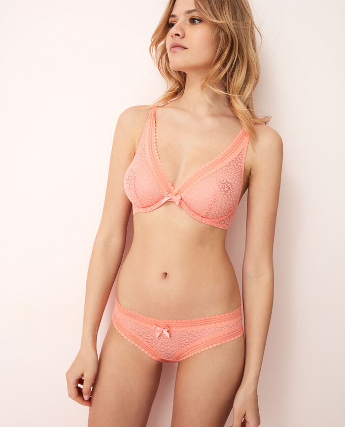 Low-cut Slip Grapefruit Rosa BELLE