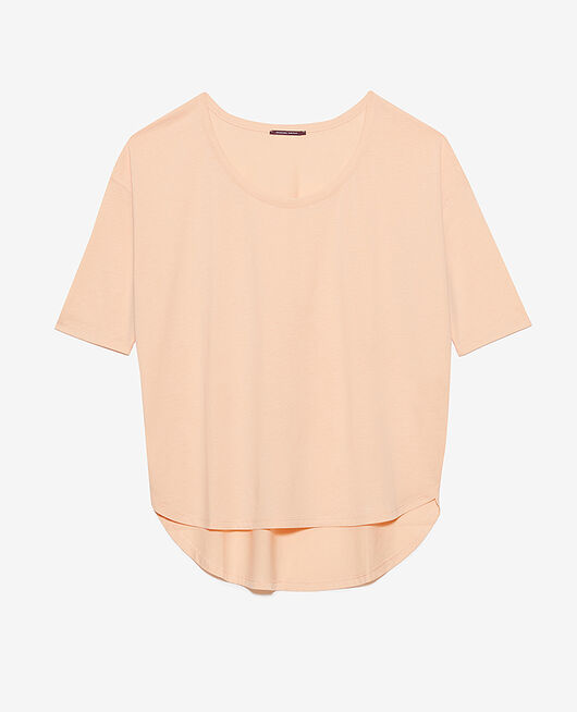 Langärmliges T-Shirt Rosa meliert TOP COLLECTION