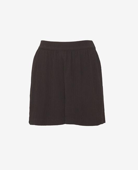 Shorts Schwarz CREPE VISCOSE