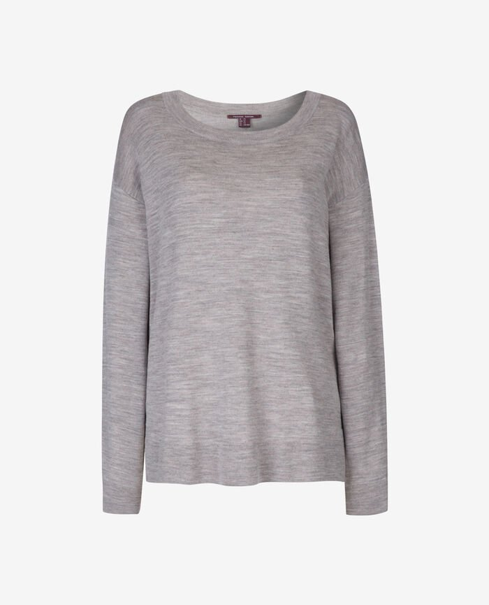 Pullover Grau meliert EXTRA