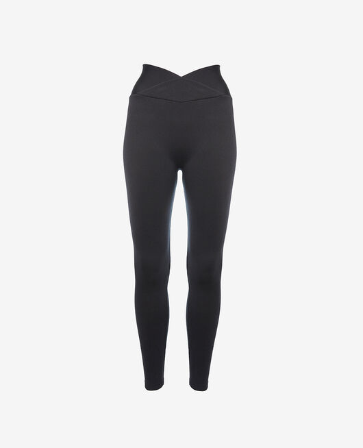Sport-Leggings Schwarz YOGA