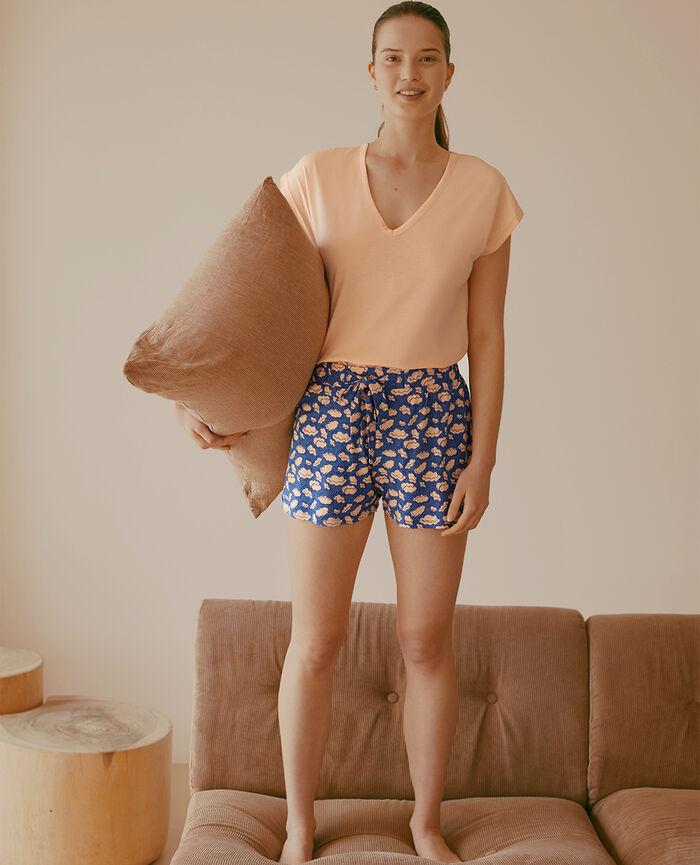 Pyjama-Shorts Wolke Fayenceblau TAMTAM SHAKER