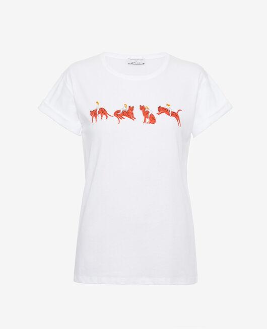 Kurzärmliges T-Shirt agathe leo FELINE