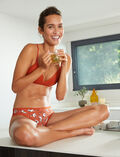 Low-cut Slip Yoga brun TAKE AWAY