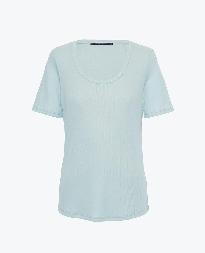 Kurzarm-T-Shirt Mosaik Grün LATTE