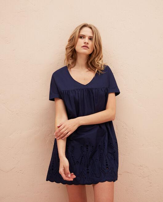 Kleid Marineblau SABBAH
