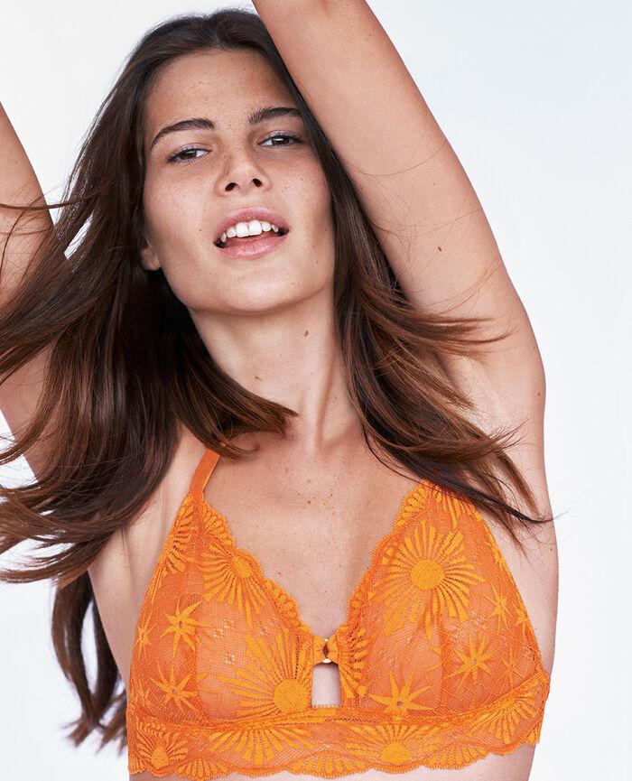 BH ohne Bügel Maya Orange SOLEIL