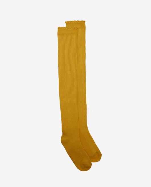 Lange Strümpfe Absinthe gelb BALLET