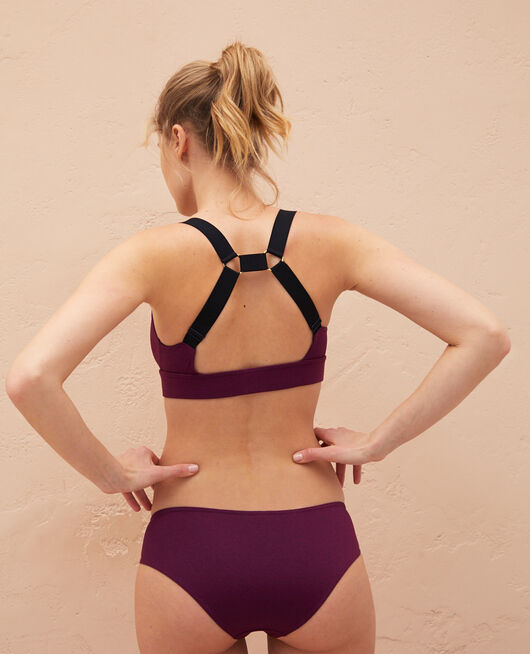 Badeanzug Sport ohne Bügel Sultan Violet DIVE