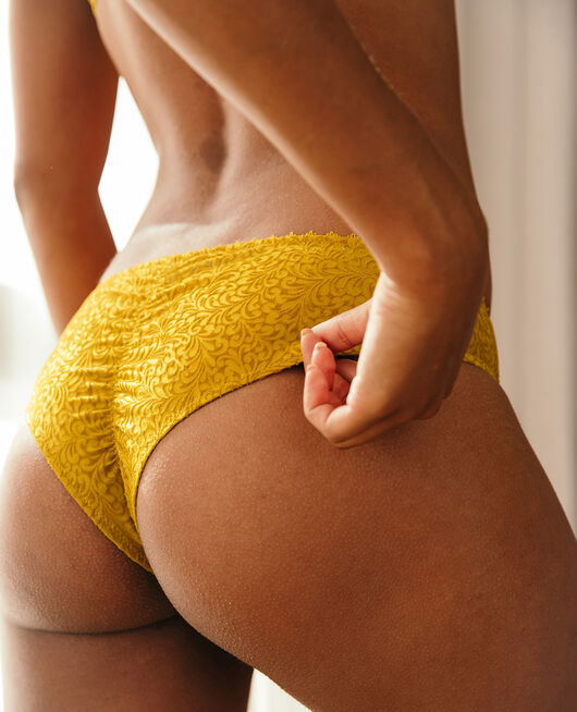 Brasilianischer Shorty Absinthe gelb VELVET