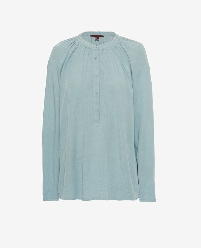 Langärmeliges Hemd Blauer Nebel AMPLITUDE