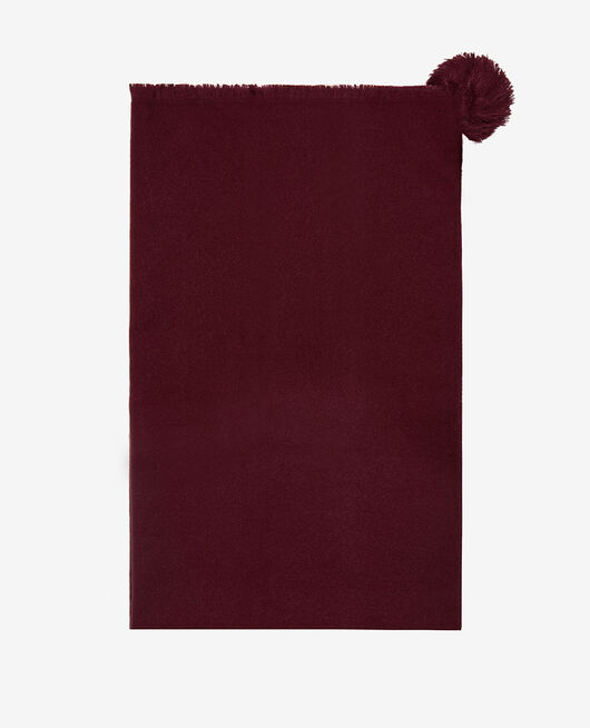 Schal Cassis rot COLOR